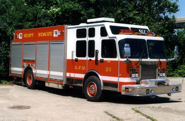 heavy rescue 14 formerly squad 52 rh cfdhistory com Rosenbauer Fire Apparatus KME Fire Apparatus